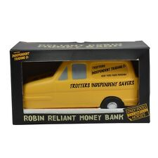Only Fools and Horses Trotters Independent Money Box Yellow Robin Reliant