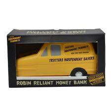 Sólo los tontos y caballos Trotters independiente dinero caja Amarillo Robin Reliant