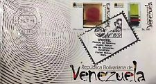 Venezuela: Set of 5 First Day Covers of Jesús Soto (2006) FDC SPD