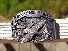 Rocky Mountains Commemorative 1993 Siskiyou Belt Buckle # 206 of 2500 Oregon