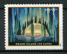 More details for usa landscapes stamps 2020 mnh grand island ice caves tourism 1v s/a set