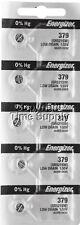 Energizer 379 Watch Batteries SR521SW SR521 0%HG ( 5 PC )