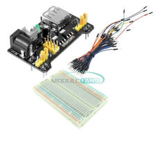 Mb102 400 Point Solderless Pcb Breadboard Power Supply Module Jump Wires Kit Set