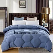 Quality 100% White Goose Down Feather Velvet Warm Winter Quilt/Comforter/Duvet