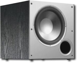"Polk Audio PSW10 10"" Powered Subwoofer, 100W Peak Power, Compact Design, Easy..."