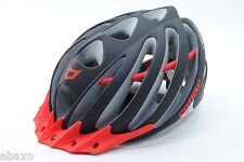 Catlike Vacuum Matte Black/Red Cycling Road Bike Helmet Medium 55-57cm
