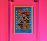 1982 Kellogg's #18 Pete Rose Phillies HOF MINT new from set