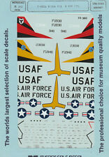 1/72 MicroScale Decals USAF Sabre F-86D 513th FIS & 496th FIS 72-360