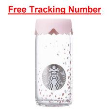 Korea Starbucks 2017 Cherry Blossom petal Glass 473ml + Free Tracking NO.