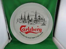 CARLSBERG ROUND BEER TRAY COPENHAGEN