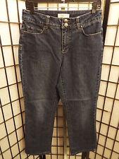 Women's Christopher & Banks Stretch Dark Wash Denim Jeans Size 6  30 x 29 B20