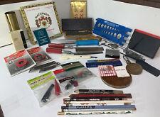 New ListingVintage Men's Junk Drawer Lot Of (51) Items~Tools~Knives~Falsta ff Bottle Openers