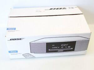 Bose Wave IV Music System AM/FM CD MP3 Espresso Black w/Remote 737251-1710