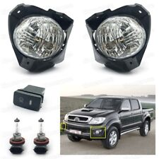 Bumper Fog Lights Lamps Cover Switch Set for Toyota Hilux / VIGO 2008-2011 09 10