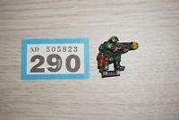 Warhammer 40k Imperial Guard / Astra Militarum Plasma Gun - Metal LOT 290