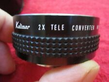 KALIMAR 2X TELE CONVERTER WITH EXTENSION TUBE (PK) CAMERA LENS WITH CASE