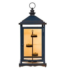 PartyLite - Rustic Candle Lantern - Plus 15 Scented Tealights