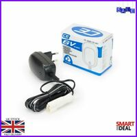 INJUSA TOYS battery charger BLACK END 6v for toys made in Spain