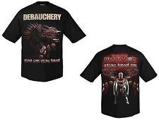 DEBAUCHERY - Killing Europe 2014 - T-Shirt - Größe Size XXL - Neu - Death Metal
