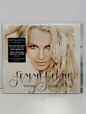 Britney Spears Femme Fatale (CD, 2011) Digipak Sealed New