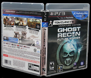 Ghost Recon Future Solider PS3 PlayStation 3 Replacement Case Cover Art NO GAME