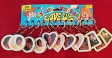 Vintage 80's NOS Key Ring Chain Photo Frames Store Display 1980s MICHAEL JACKSON