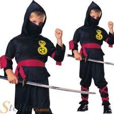 Disfraces de niño de color principal negro, ninja