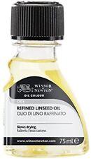 Winsor & Newton 3021748- aceite de linaza refinado 75 ml