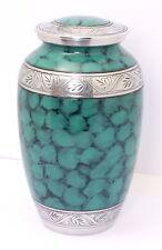Urna de la cremación de cenizas Grande para Adultos Funeral Memorial Verde urna, Oferta Especial