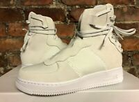 WOMENS NIKE AF1 REBEL XX OFF WHITE SILVER UK6 US8.5 EUR40 AO1525 100 AIR FORCE