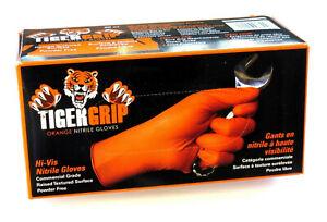 Tiger Grip XXL XL L M Nitril Einweg Handschuhe Werkstatt Gummihandschuhe 11 10 9