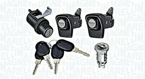 Lock Cylinder Kit Set 4 pcs 2 Doors 1 Taigate 1 Ignition Fits FIAT Panda 85-04