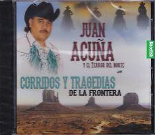 Juan Acuna y El Terror del Norte En Corridos y Tragedias de la Frontera CD Nuevo