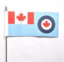 Canada Royal Canadian Air Force (RCAF) Ensign Ultimate Table Flag