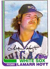 1982 Topps Lamarr Hoyt Chicago White Sox #428 Baseball Card