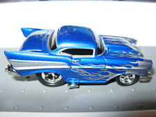 Muscle Machines MM 1957 57 Chevy Blue M2 HW Hot Wheels THunt Loose 1/64 Funlines