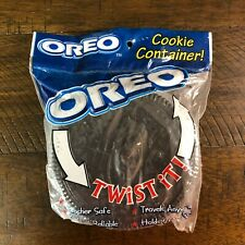 Oreo Cookie Twist Off Container Holder - Holds 6 Oreos **NEW OLD STOCK**