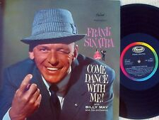 Frank Sinatra UK Reissue LP Come dance with me NM Capitol Jazz Vocal Pop