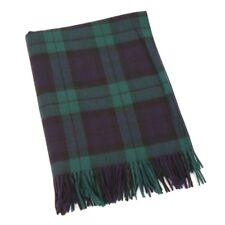 238f5c230f0ca Large Lambswool Irish Tartan Black Watch Blanket by John Hanly 620