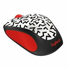 Logitech Wireless Mouse Red  ZigZag Party Collection M317c M325 M238
