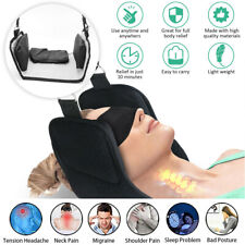 Neck Pain Relief Hammock Support Massager Cervical Traction Device Stretcher