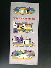 Ancienne brochure Ecosse 1956