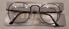 Vintage Deja Vu DV-820 Ant Blue 50/22 P3 Metal Eyeglass Frame New/Old Stock #240