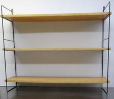 mid century danish design 60s - Minimalistisches String Wand Bücher Regal ~60er