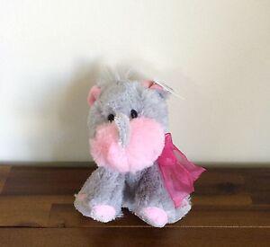 RUSS Rhino Rayanne Soft Plush Toy Valentines Bear/Gift