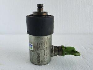 Rehobot CH62 Hollow Hydraulic Cylinder 6 Ton 2 In Stroke Gravity Return - Sweden