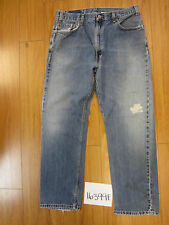 used Levis 505 destroyed feathered grunge jean tag 36x30 meas 33x29.5 16399F