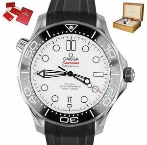 MINT Omega Seamaster 210.32.42.20.04.001 Diver White Chronometer Ceramic 42mm