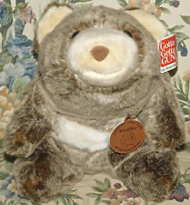 "GUND 30TH BIRTHDAY 10"" CHOCOLATE SNUFFLES BEAR- #319930 New ALL TAGS Plush Toy"