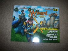 Wizard 101 Game Card AERO PLAINS Bundle new CROWNS Blue Ox Mount Speed Boost ++